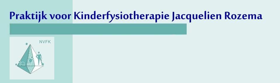 Welkom bij Kinderfysiotherapeute Jacquelien Rozema